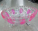 Glass fruit plate, Picture